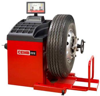 CEMB C212 kamionska balanserka za teretne točkove