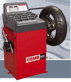 CEMB K22 digitalna mašina za balansiranje motociklističkih točkova